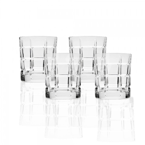 Godinger: Radius Double Old Fashioned, Set of 4
