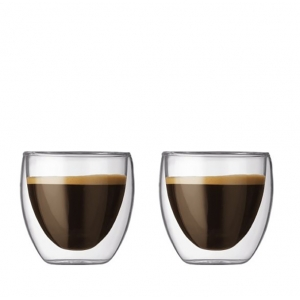 Bodum: Pavina 2.5-Ounce Glasses, Set of 2