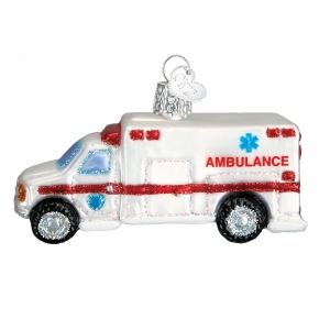Old World Christmas: Ambulance