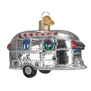 Old World Christmas: Vintage Trailer