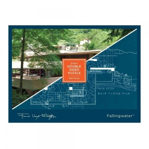 Galison: Frank Lloyd Wright Double Sided Puzzle