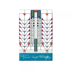 Galison: Frank Lloyd Wright Tree of Life Magnet