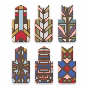 Galison: Frank Lloyd Wright Magnetic Bookmarks