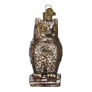 Old World Christmas: Vintage Wise Old Owl