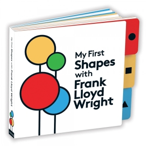 Mudpuppy: My First Shapes with Frank Lloyd Wright Board Book