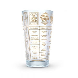 Fred & Friends: Good Measure Glass, Whiskey Recipes