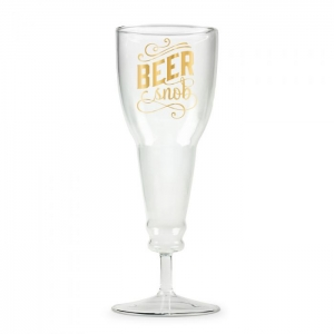 Fred & Friends: Beer Snob Beer Glass