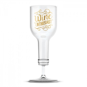 Fred & Friends: Wine Enthusiast Wine Glass
