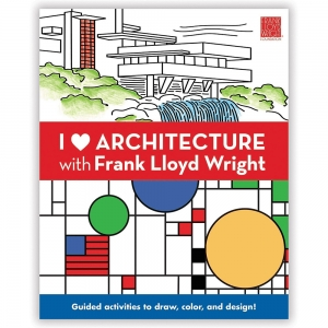 Mudpuppy: I Heart Architecture with Frank Lloyd Wright Activity Book