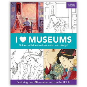 Mudpuppy: I Heart Museums Activity Book