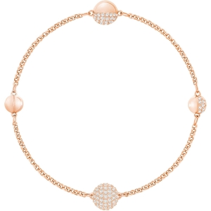 Swarovski: Remix Collection Strand, White, Rose Gold Plated