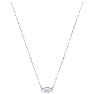 Swarovski: Attract Necklace, Rhodium Plated