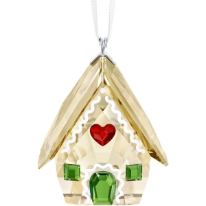 Swarovski: Gingerbread House Ornament