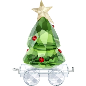 Swarovski: Christmas Tree Wagon