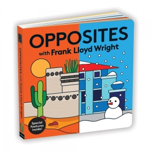 Mudpuppy: Opposites with Frank Lloyd Wright Board Book