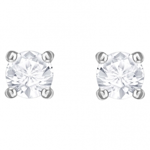 Swarovski: Attract Round Earrings