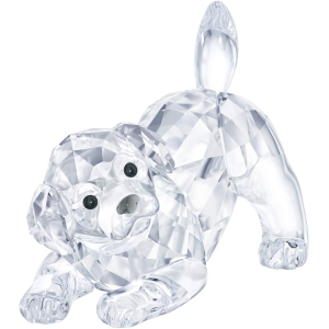 Swarovski: Labrador Puppy, Playing
