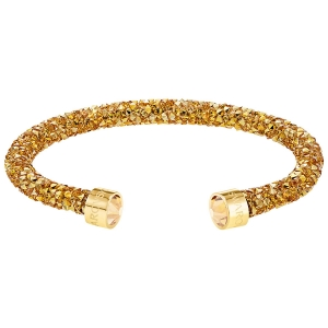 Swarovski: Crystaldust Cuff, Yellow