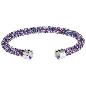 Swarovski: Crystaldust Cuff, Purple