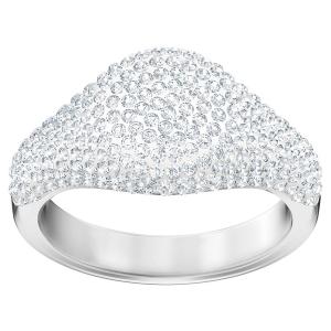 Swarovski: Stone Signet Ring, Size 8