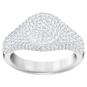 Swarovski: Stone Signet Ring, Size 6