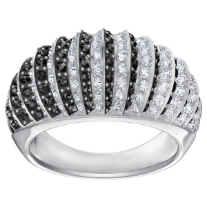 Swarovski: Luxury Domed Ring, Size 8