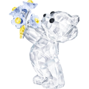 Swarovski: Kris Bear Series, Forget-me-not