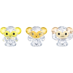 Swarovski: Three Wise Monkeys