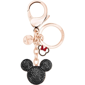 Swarovski: Mickey Bag Charm, Black