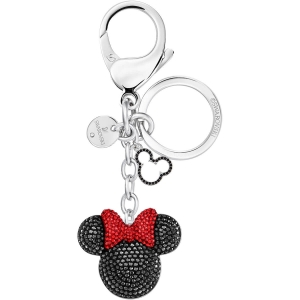 Swarovski: Minnie Bag Charm, Black, Stainless Steel