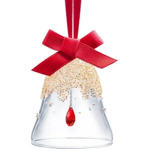 Swarovski: Christmas Bell Ornament, Small