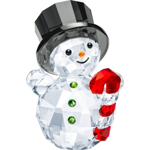 Swarovski: Snowman with Candy Cane