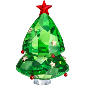 Swarovski: Christmas Tree, Green