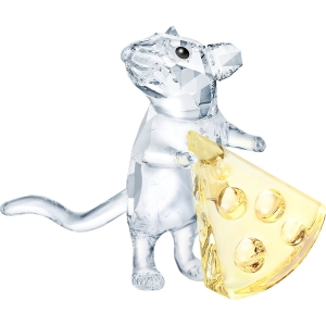 Swarovski: Mouse with Cheese