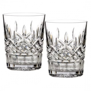 Waterford: Lismore Double Old Fashioned Glasses, Set of 2