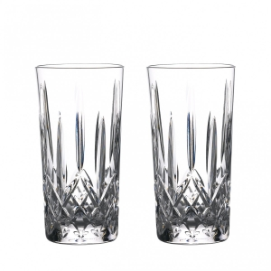 Waterford: Lismore High Ball Glasses, Set of 2