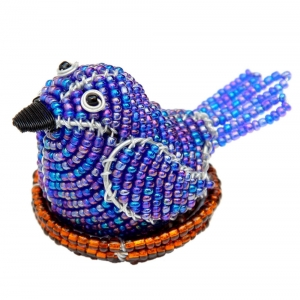 Beadworx: Beaded Bird