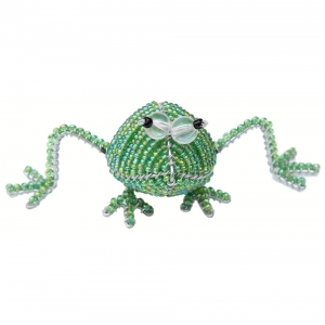 Beadworx: Beaded Frog