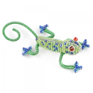 Beadworx: Beaded Gecko