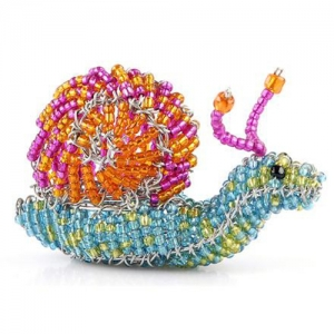 Beadworx: Beaded Snail