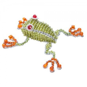 Beadworx: Beaded Tree Frog