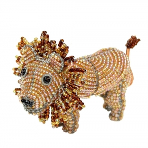 Beadworx: Beaded Lion