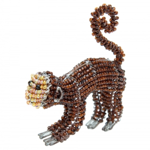 Beadworx: Beaded Monkey