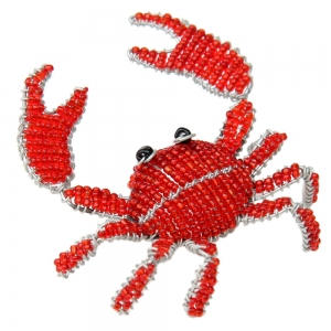 Beadworx: Beaded Crab