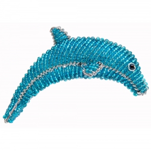 Beadworx: Beaded Dolphin