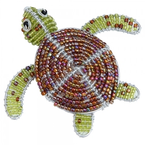 Beadworx: Beaded Small Sea Turtle