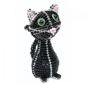 Beadworx: Beaded Cat