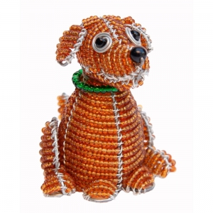 Beadworx: Beaded Dog