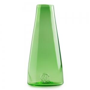 Five O'Clock Glass: Rainbow Bud Vase, Green