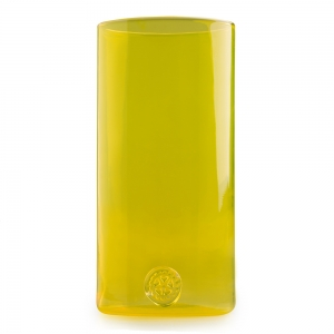 Five O'Clock Glass: Rainbow Tumbler, Yellow